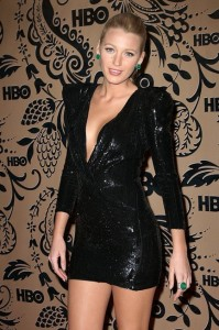 Blake Lively in Balmain at the HBO Emmy after party